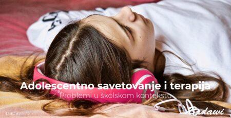 Adolescentno savetovanje i terapija