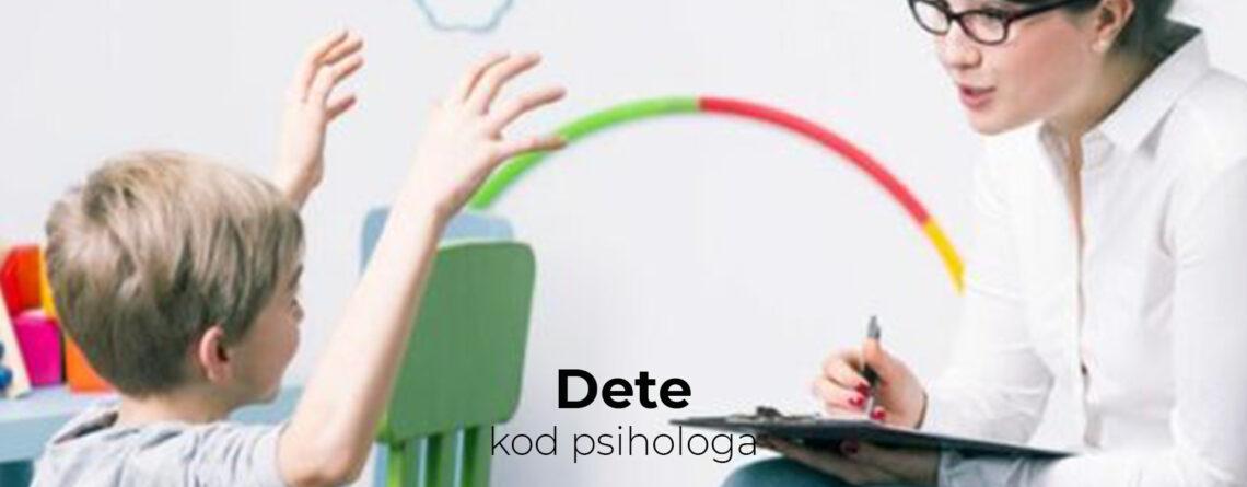 Dete kod psihologa