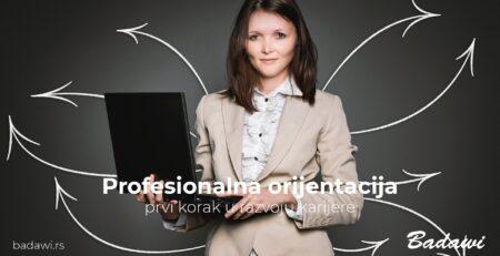 Profesionalna orijentacija – prvi korak u razvoju karijere