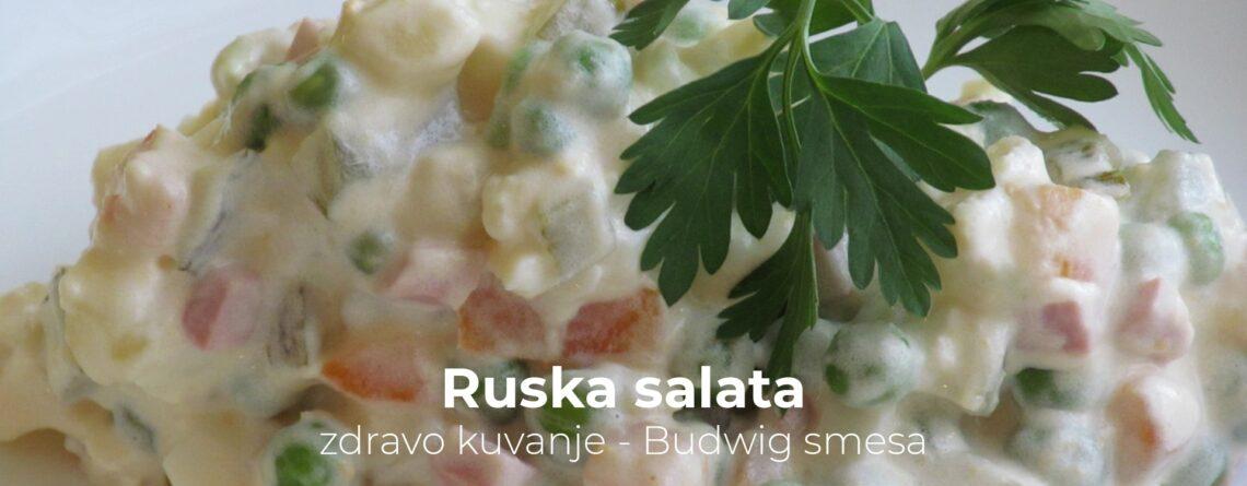 Ruska salata - zdravo kuvanje