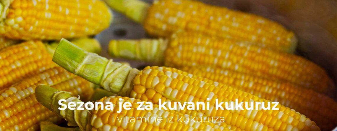 Sezona je za kuvani kukuruz i vitamine iz kukuruza