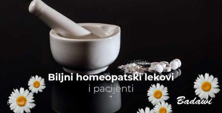 Biljni homeopatski lekovi