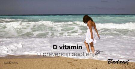 D vitamin u prevenciji oboljenja