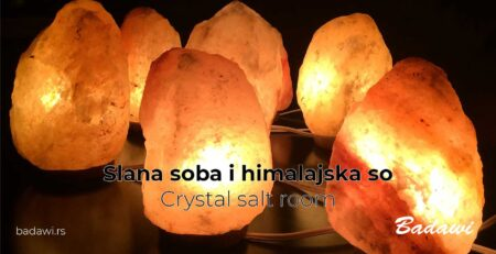 Slana soba i himalajska so - Crystal salt room